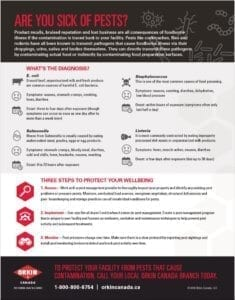 tip sheet for food borne illnesses
