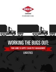 Guide to keeping pests out of logistics
