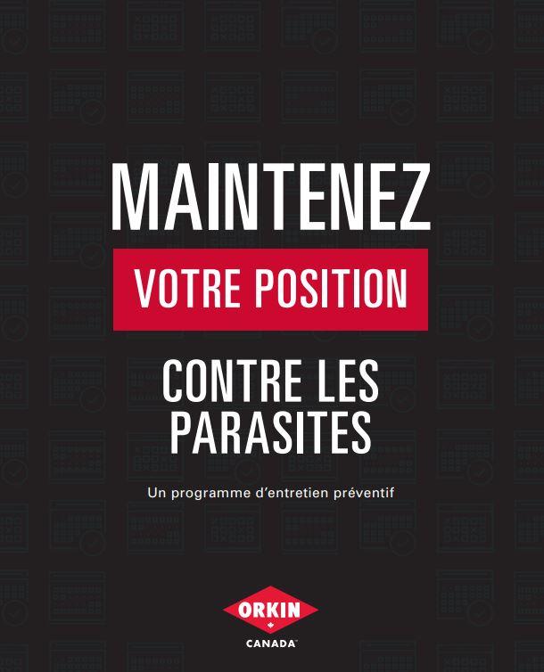Un guide d'entretien préventif contre les parasites