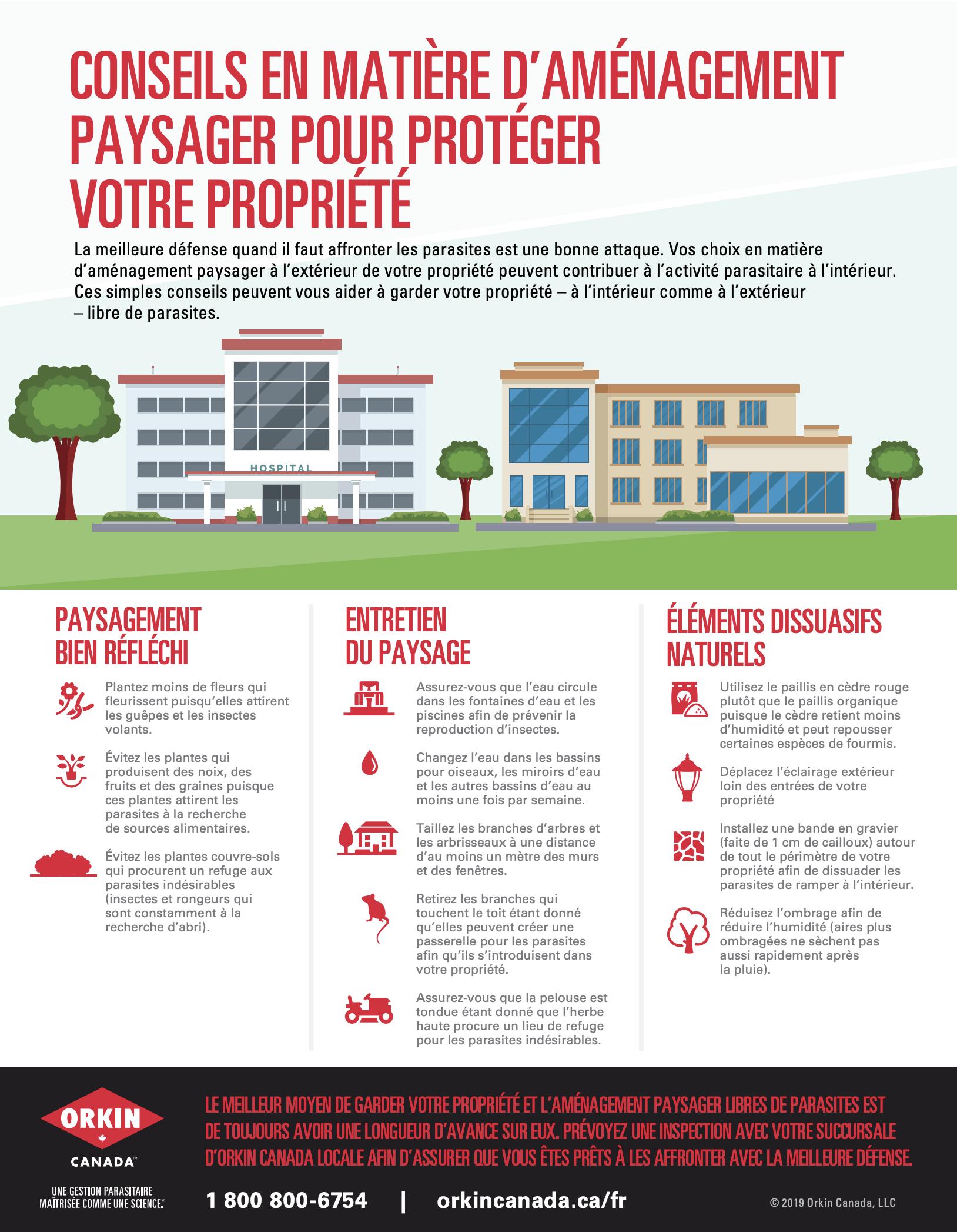 un guide en matière d'aménagement paysager pour protéger votre propriété
