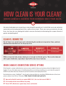 A Quick Guide To Disinfection