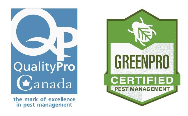 Certifiée auprès de QualityPro et GreenPro