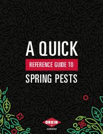 Spring Pest Guide Cover