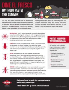 dine without pests